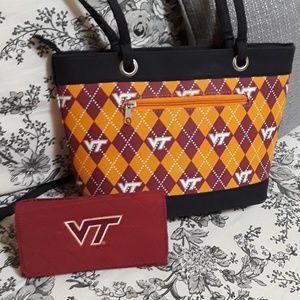 VIRGINIA TECH Purse and Wallet
